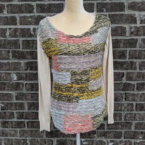 NWT Anthropologie Moth Woven Front Sweater